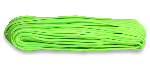 Paracord Naru 550, Neon Green 30,5m
