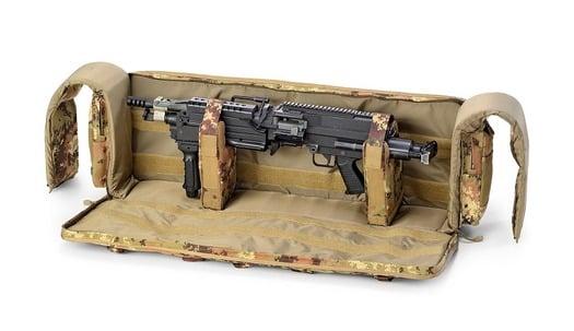 Defcon 5 Tactical minimi gun case, camo