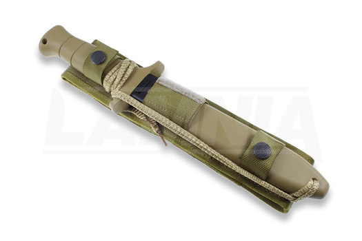 Original Eickhorn-Solingen Desert Command II taktisk kniv, taggete