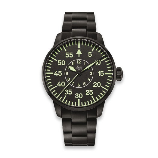Laco Sidney pilot watch, שחור