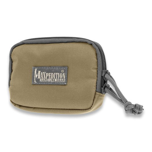 Maxpedition Hook & Loop 3x5 Zipper Pocket 3526KF