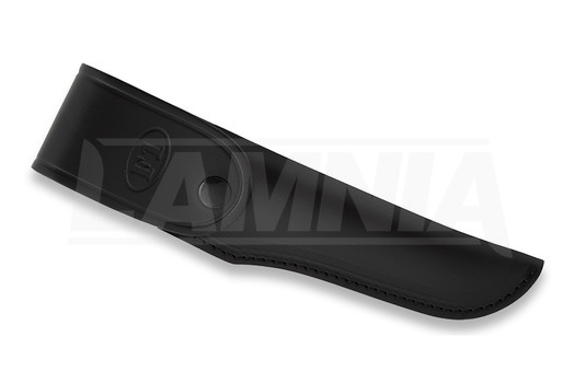 Cuchillo de supervivencia Fällkniven F1 Leather, negro