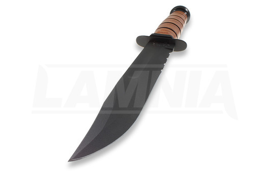 Coltello Ka-Bar 1218, dentatura lama
