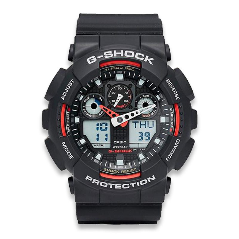 Skeptisk Ödelägga tre  Casio G-Shock Classic GA-100 wristwatch | Lamnia