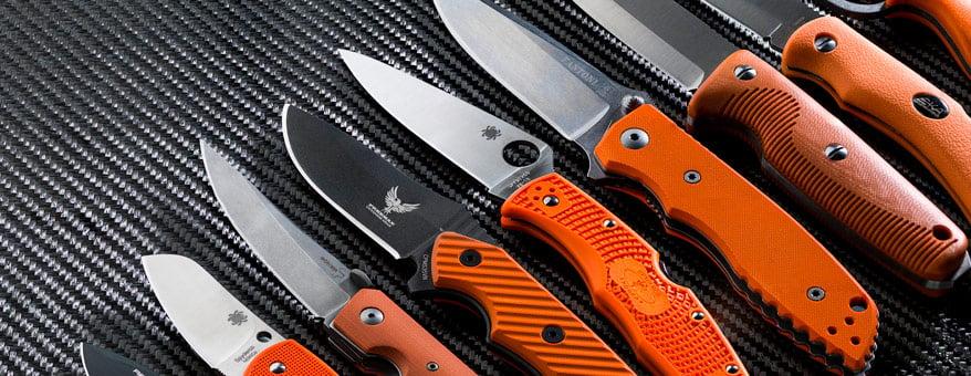 Kniver og foldekniver