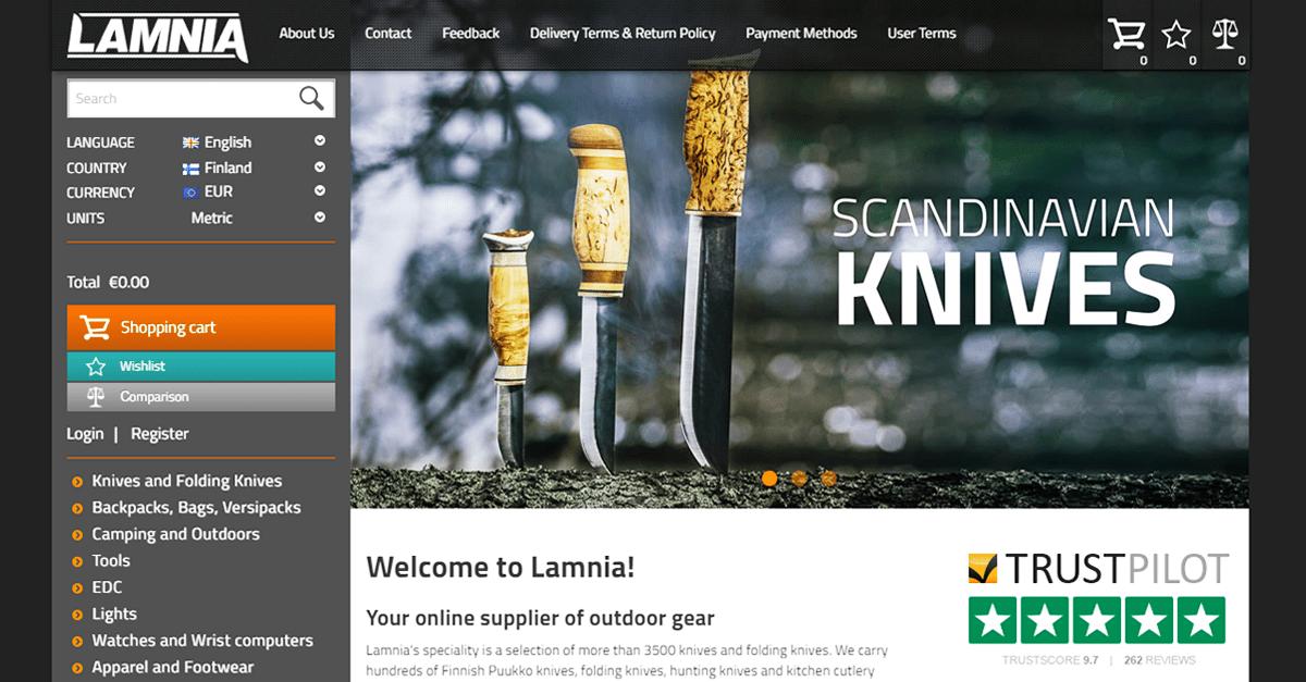 Scandinavian Knives, Puukko and Leuku Knives | Lamnia
